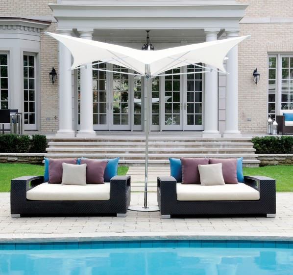 Great Andrew Richard Designs Tranquility Beds And Manta Shade Umbrella From The  Ocean Master Collection. Ideas