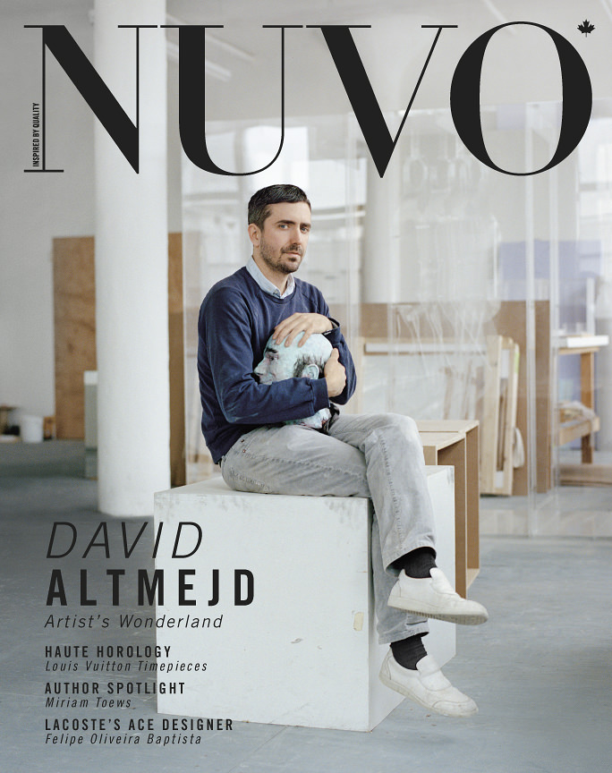 NUVO Magazine: Spring 2012 Cover featuring David Altmejd
