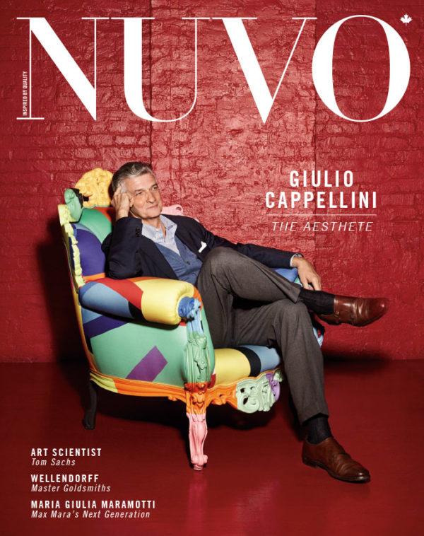 NUVO Magazine: Autumn 2012 Cover featuring Giulio Cappellini