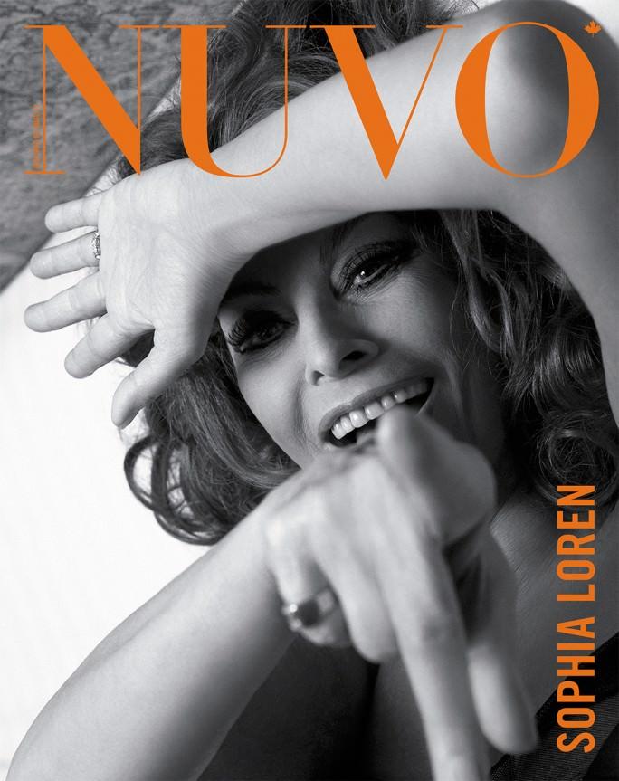 NUVO Magazine Spring 2007 Cover featuring Sophia Loren