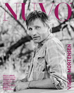 NUVO Magazine Autumn 2007 Cover featuring Viggo Mortensen