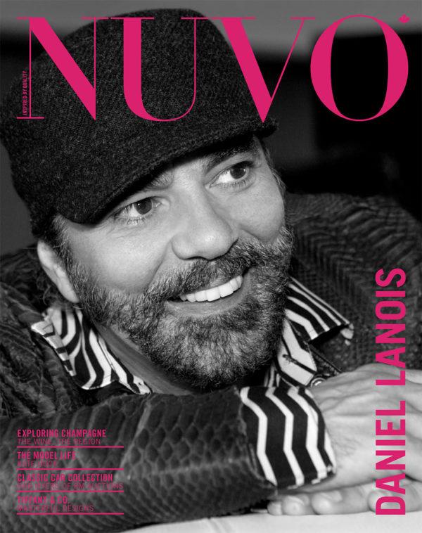 NUVO Magazine Winter 2007 Cover featuring Daniel Lanois