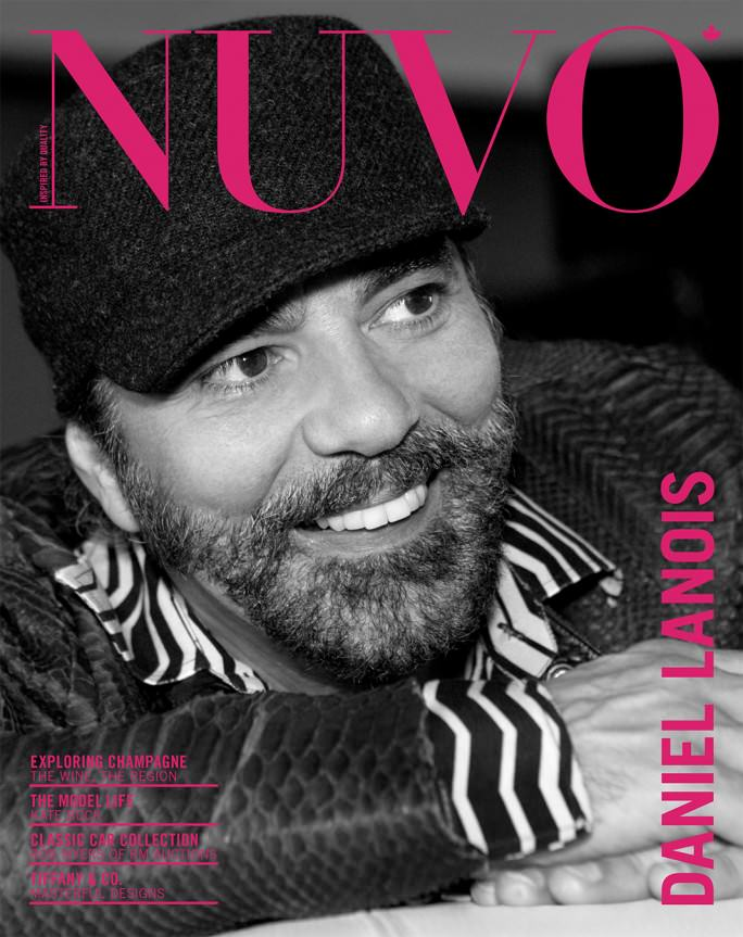 NUVO Magazine Winter 2007 Cover featuring Daniel Lanois