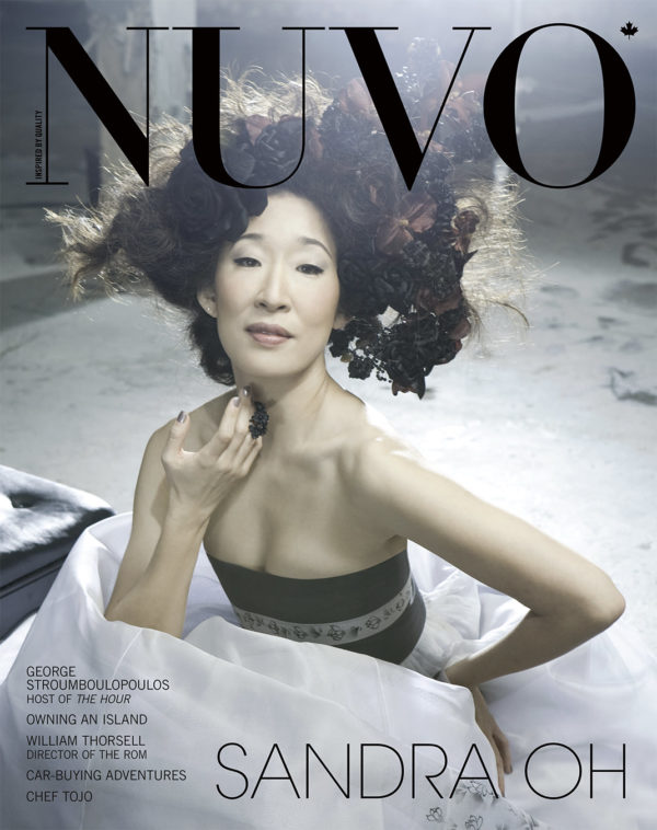 NUVO Magazine Spring 2008 Cover featuring Sandra Oh