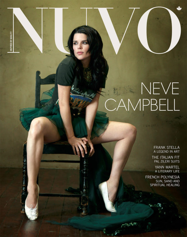 NUVO Magazine Summer 2008 Cover featuring Neve Campbell