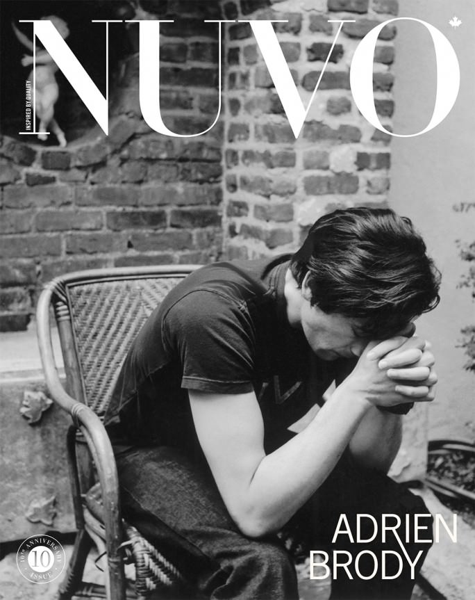 NUVO Magazine Winter 2008 Cover featuring Adrien Brody
