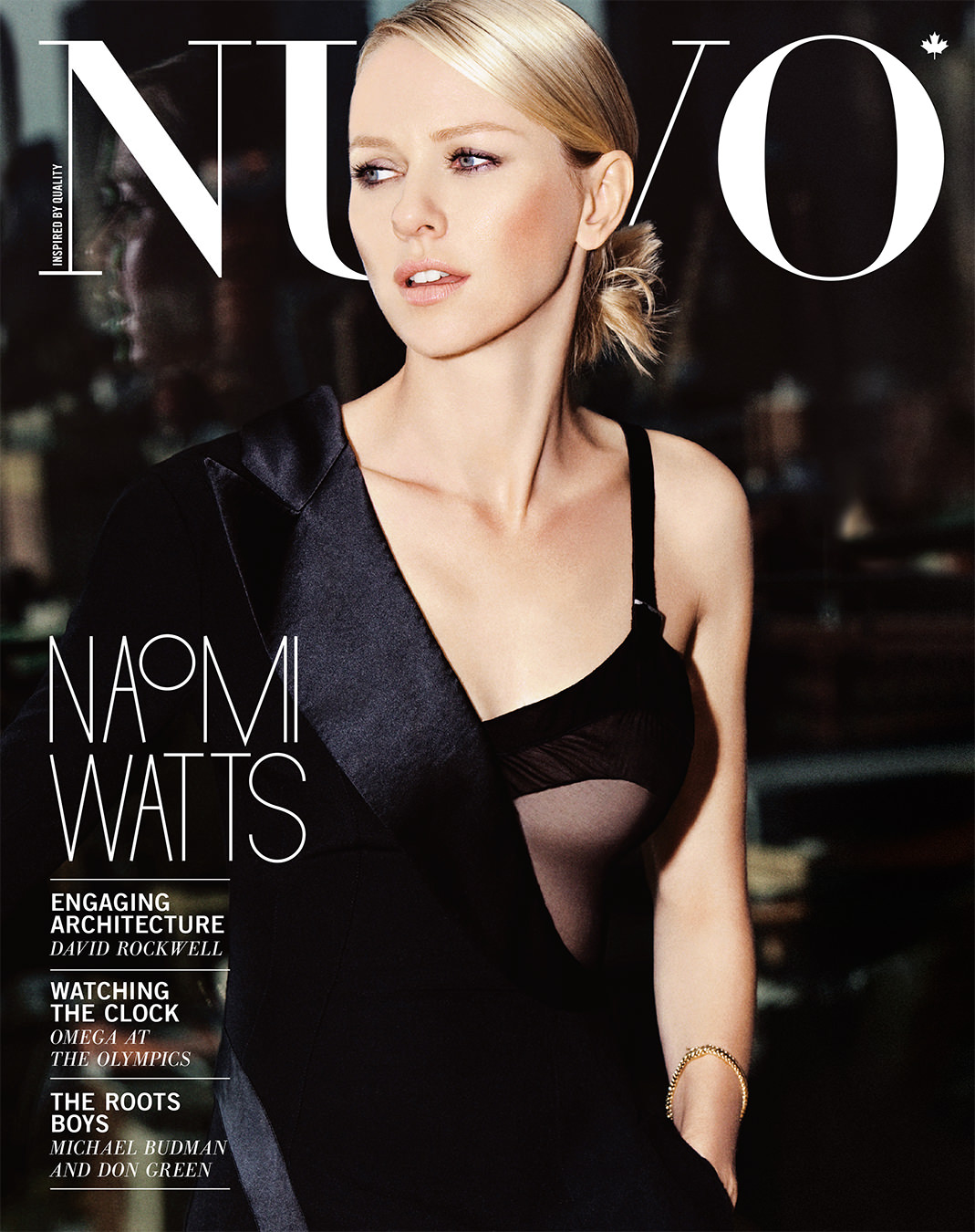 NUVO Magazine Winter 2009 Cover featuring Naomi Watts