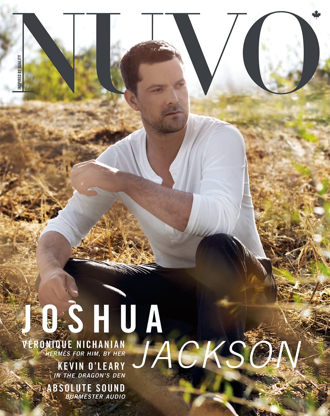 NUVO Magazine Autumn 2010 Cover featuring Joshua Jackson