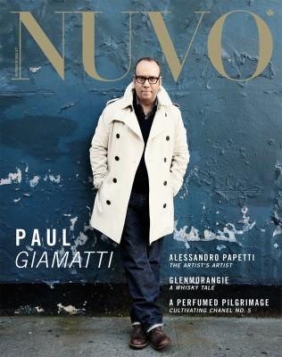 NUVO Magazine Winter 2010 Cover featuring Paul Giamatti