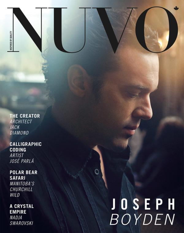 NUVO Magazine Spring 2011 Cover featuring Joseph Boyden