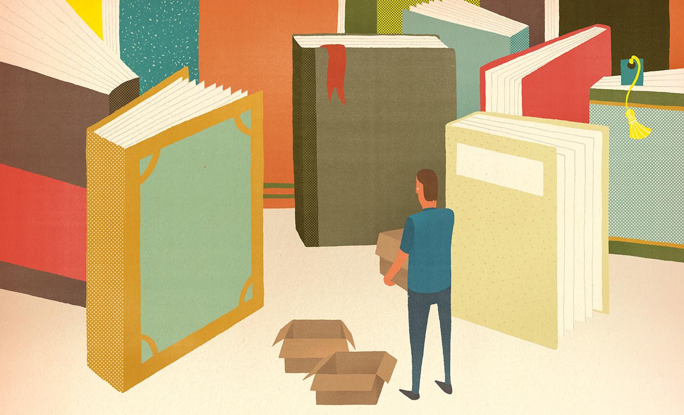 NUVO Magazine: Shedding Books