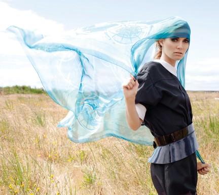 NUVO Magazine: Into the Wind Hermès