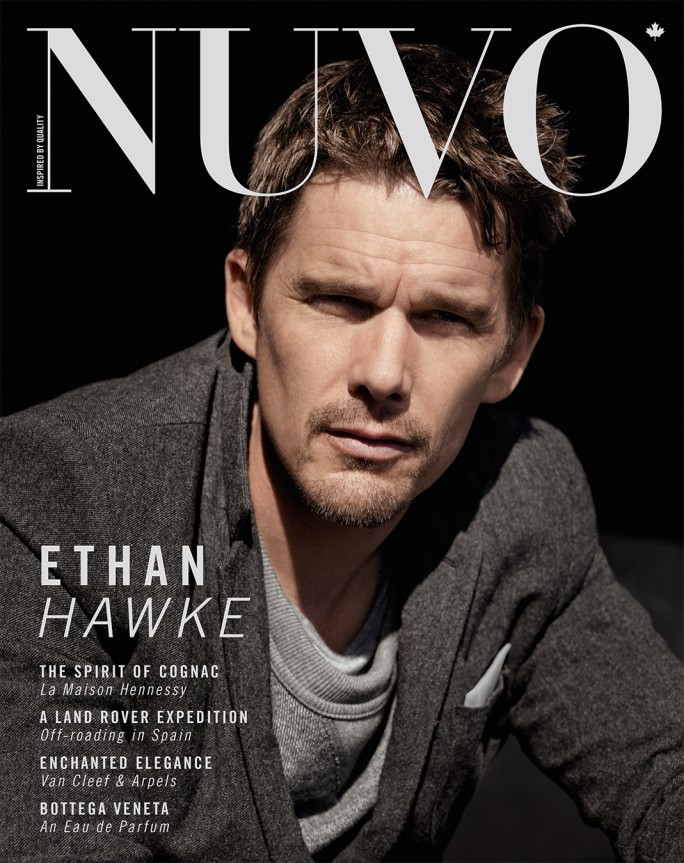 NUVO Magazine Winter 2011 Cover featuring Ethan Hawke
