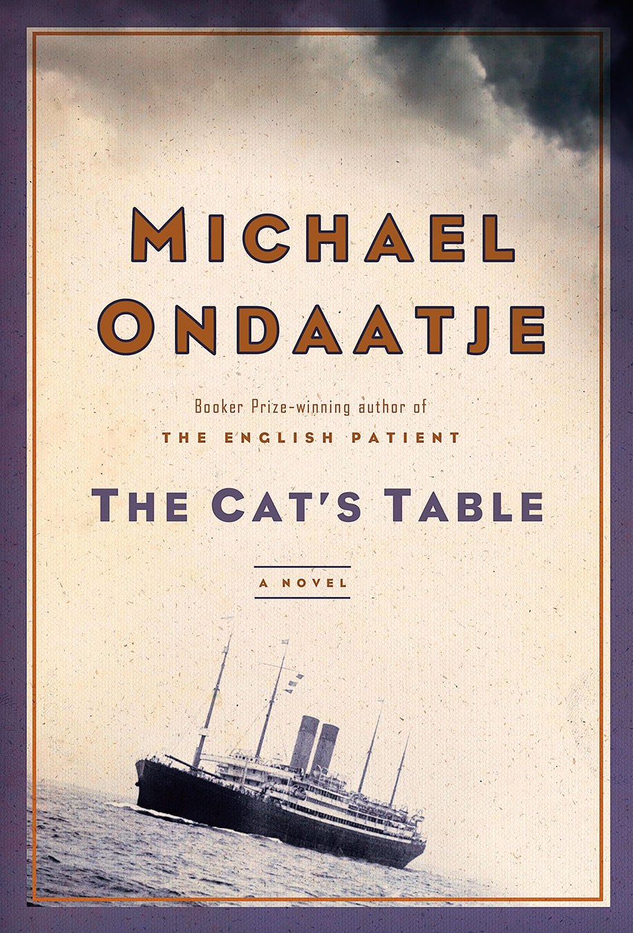 Michael Ondaatje : express yourself beautifully