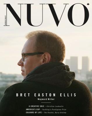 NUVO Magazine Summer 2013 Cover featuring Bret Easton Ellis