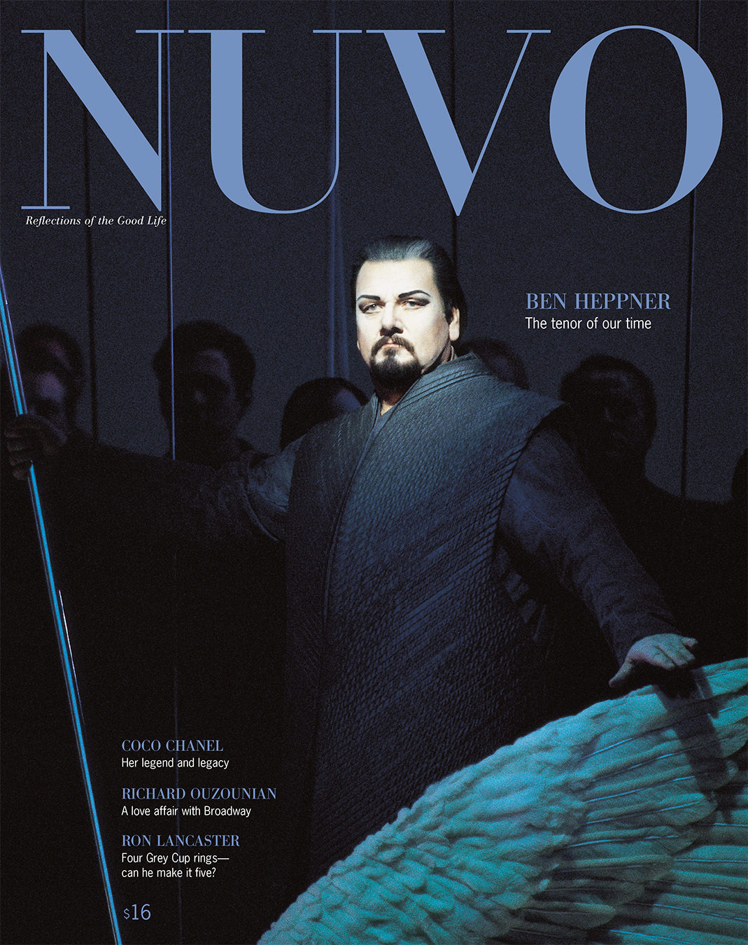 NUVO Magazine Autumn 2000 Cover featuring Ben Heppner