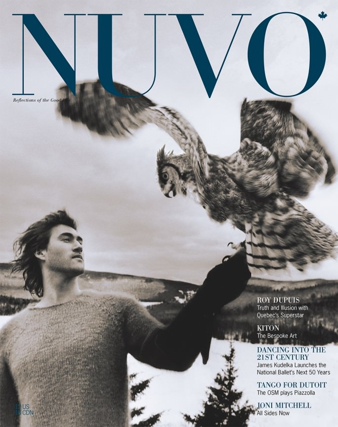 NUVO Magazine Autumn 2001 Cover featuring Roy Dupuis