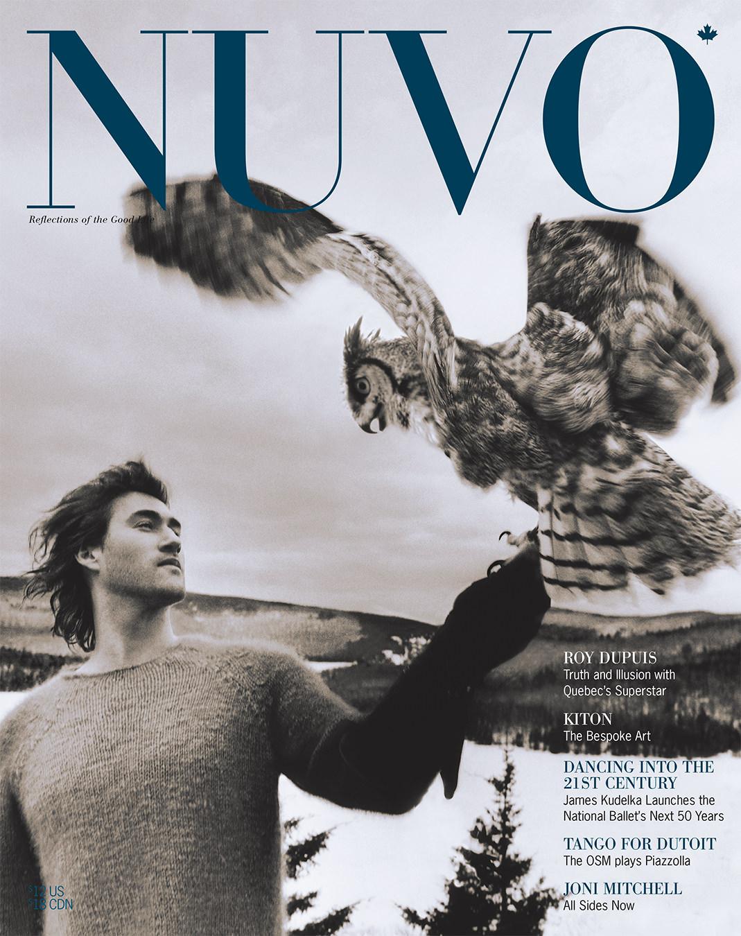 NUVO Magazine Autumn 2001 Cover featuring Roy Dupuis