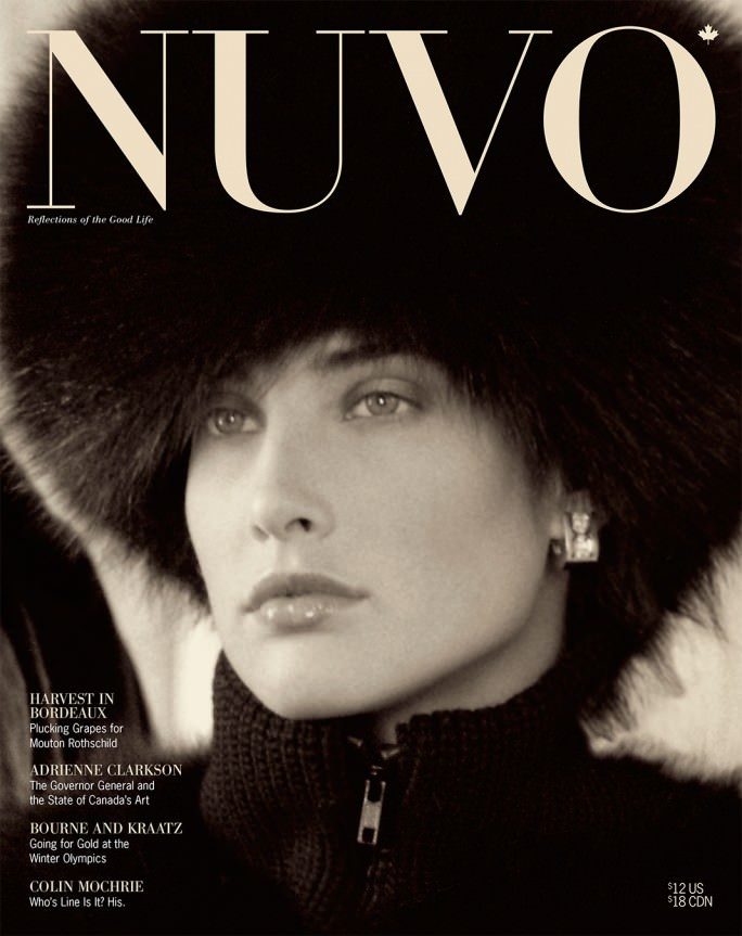 NUVO Magazine Winter 2001 Cover