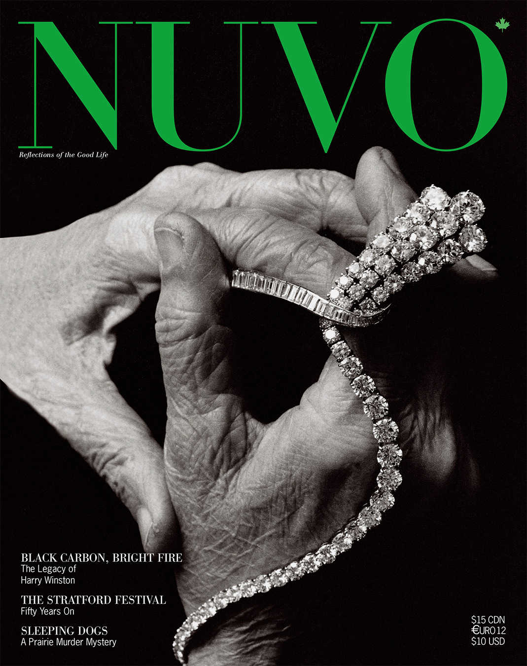 NUVO Magazine Spring 2002 Cover featuring Harry Winston