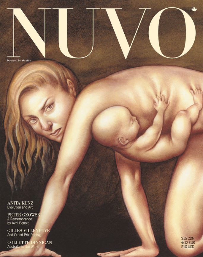 NUVO Magazine Summer 2002 Cover featuring artwork by Anita Kunz