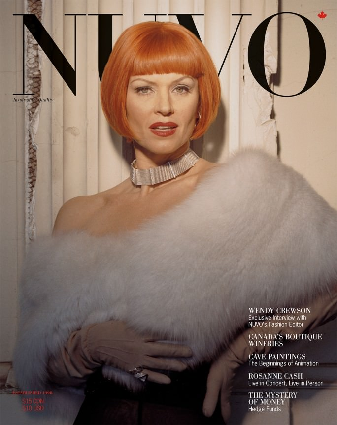 NUVO Magazine Autumn 2003 Cover featuring Wendy Crewson