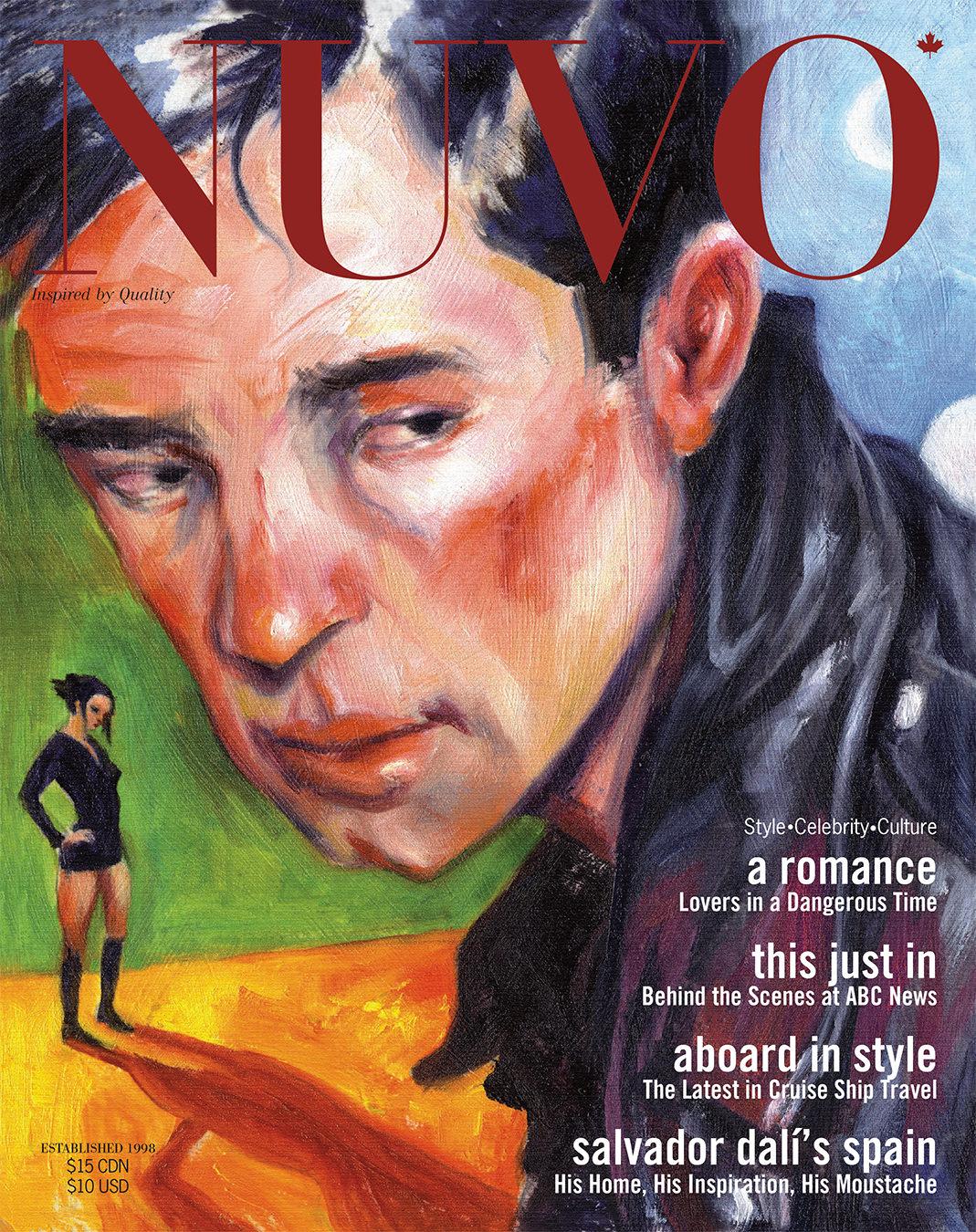 NUVO Magazine Winter 2004 Cover