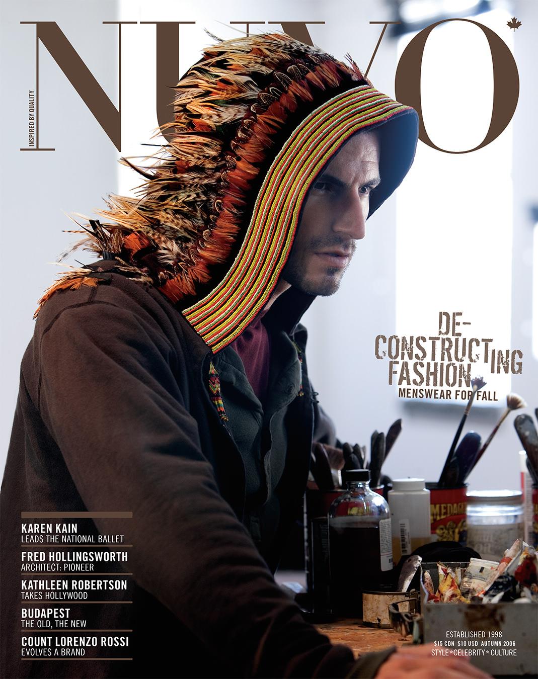 NUVO Magazine Autumn 2006 Cover