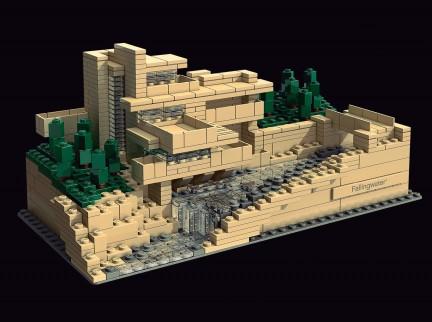 Nuvo Magazine: Frank Lloyd Wright LEGO Replicas