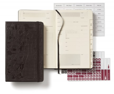 NUVO Magazine: The Wine Passion Moleskine