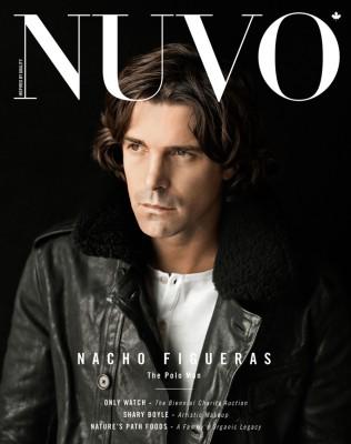 NUVO Magazine Autumn 2013 Cover featuring Nacho Figueras