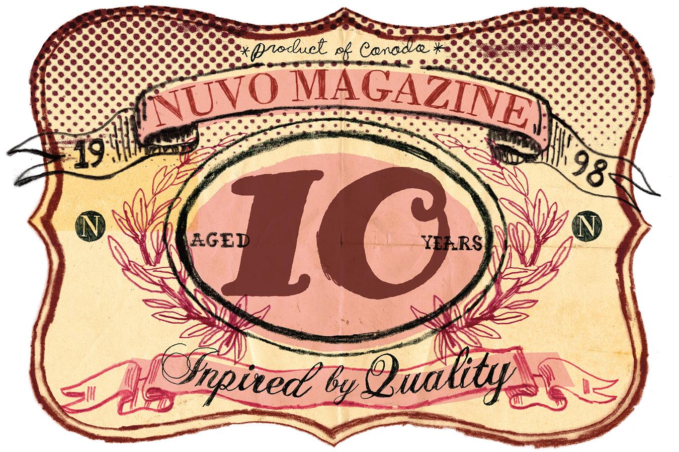 NUVO Magazine: A 10-Year Celebration