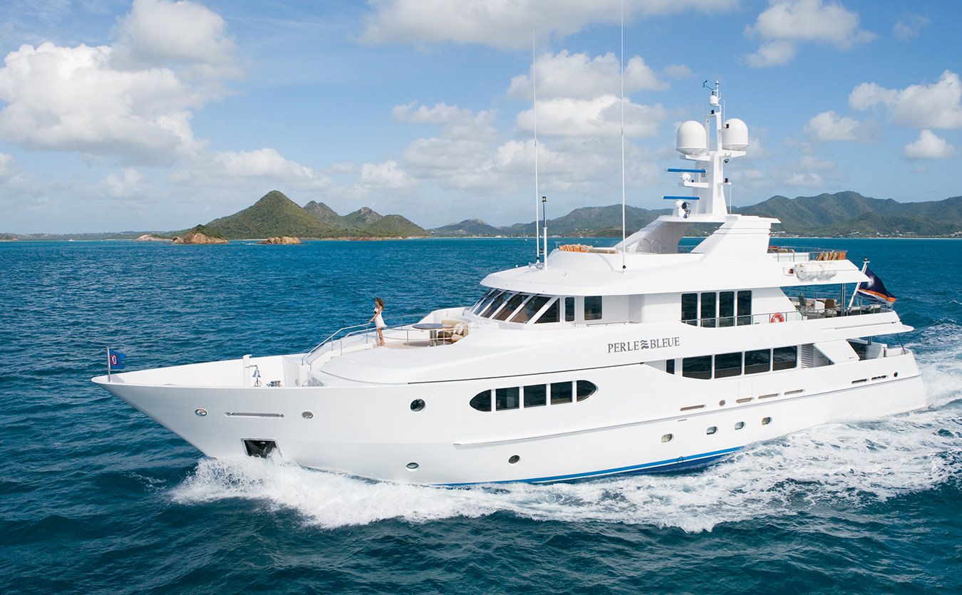 NUVO Magazine: Aboard Perle Bleue