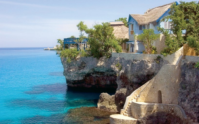 Chris Blackwell S Island Outpost Properties Is Located On The Western Tip Of Jamaica With 10 Acres Coastline Made Up Limestone Cliffs And Caves
