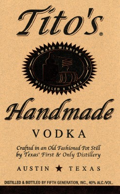 NUVO Magazine: Tito's Handmade Vodka