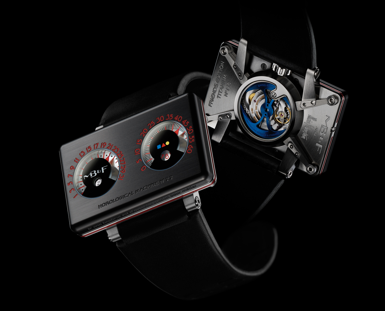 NUVO Magazine: MB&F Timepieces