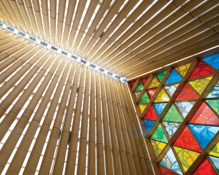 NUVO Magazine: The Cardboard Cathedral