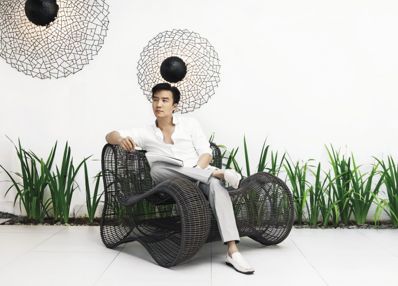 kenneth cobonpue furniture. Cebuano Designer Kenneth Cobonpue. Cobonpue Furniture T