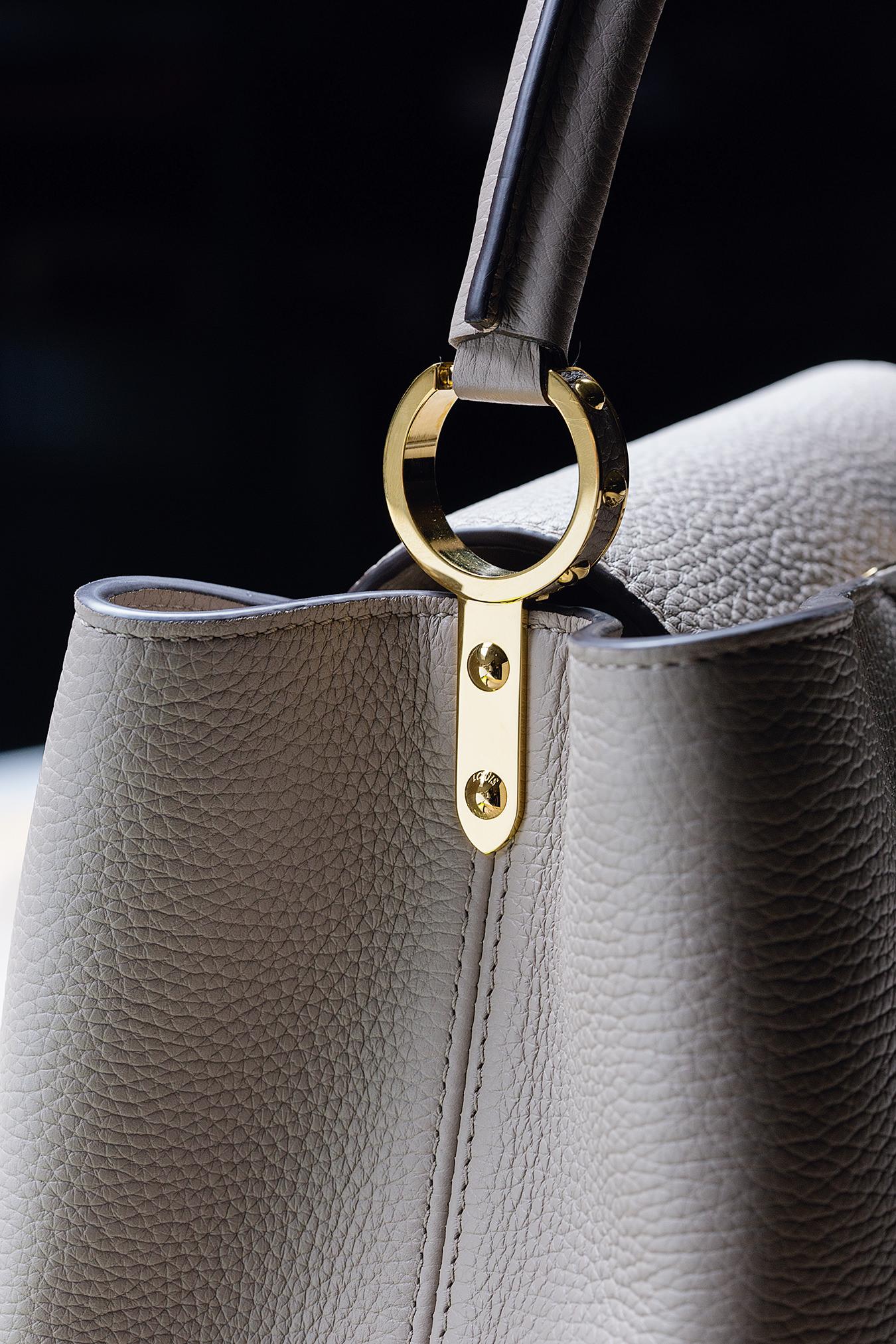 Louis Vuitton S Capucines Handbag Nuvo
