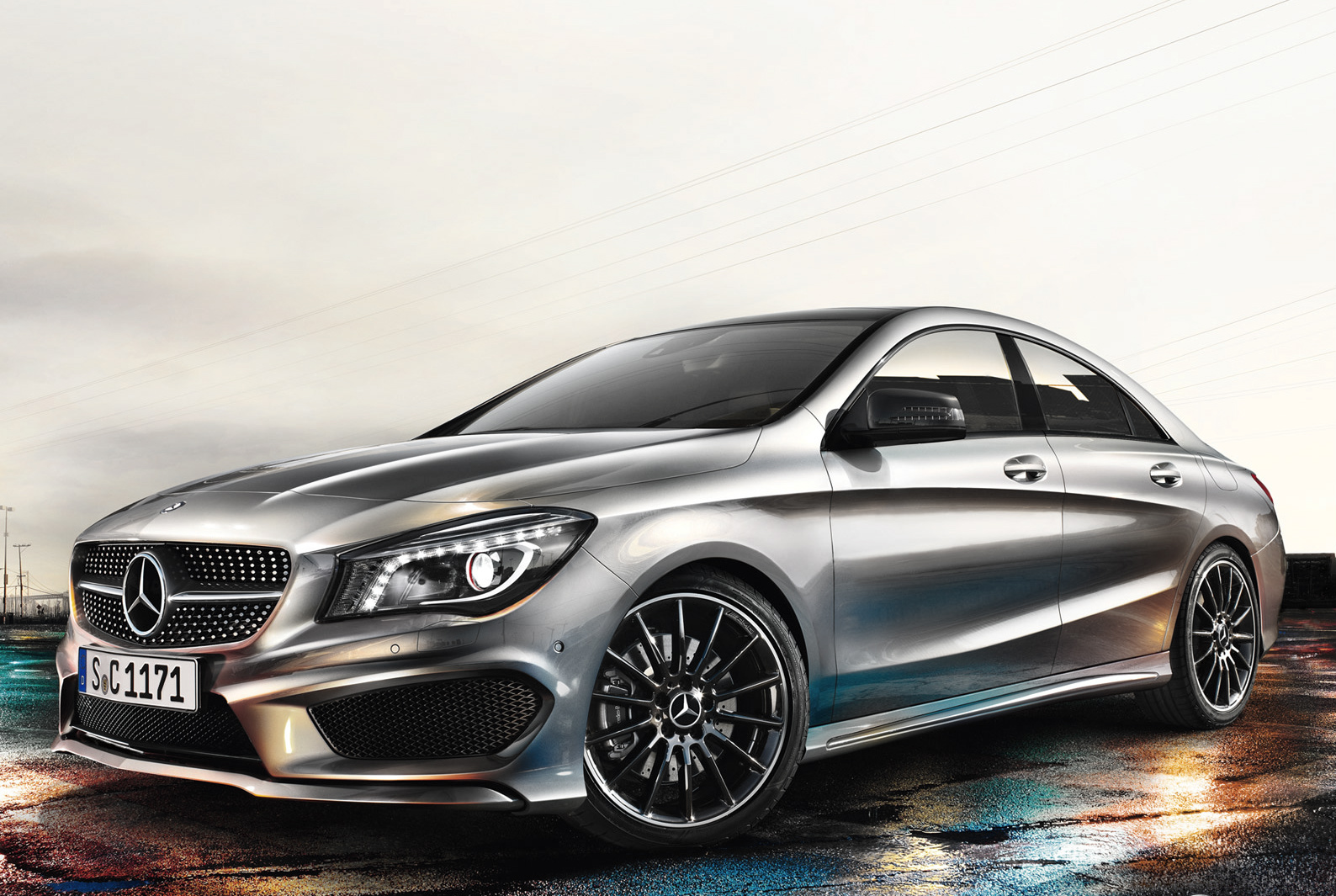 Three sport compacts nuvo for Mercedes benz cla 2012