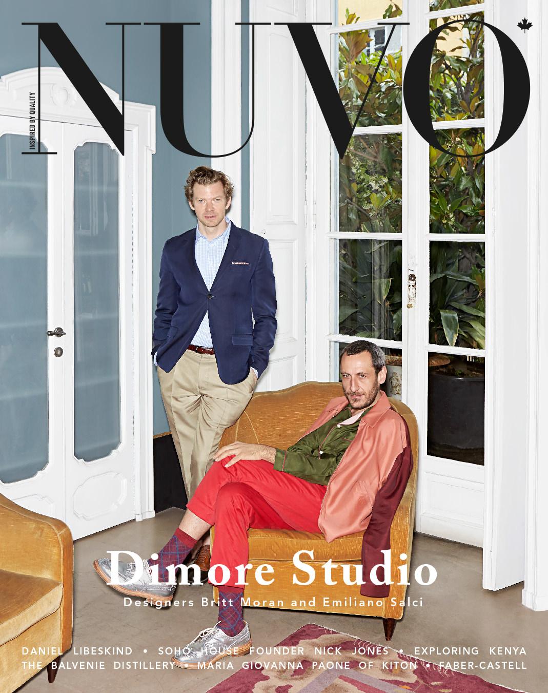 NUVO Magazine Autumn 2014 Cover featuring Dimore Studio