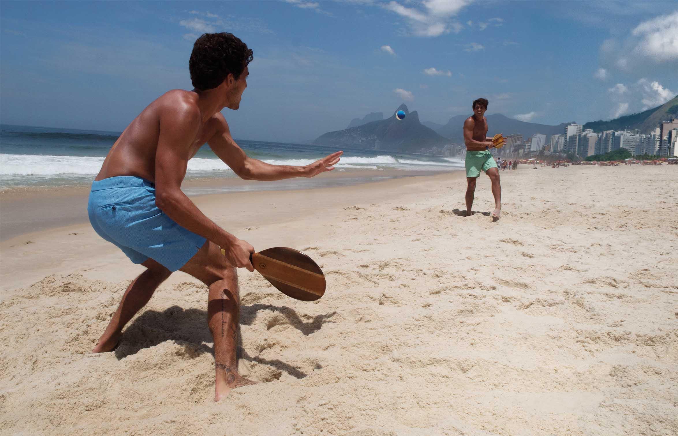NUVO Daily Edit: Frescobol Carioca