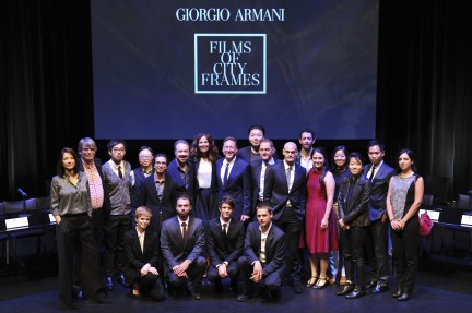 NUVO Daily Edit: Armani's Films of City Frames