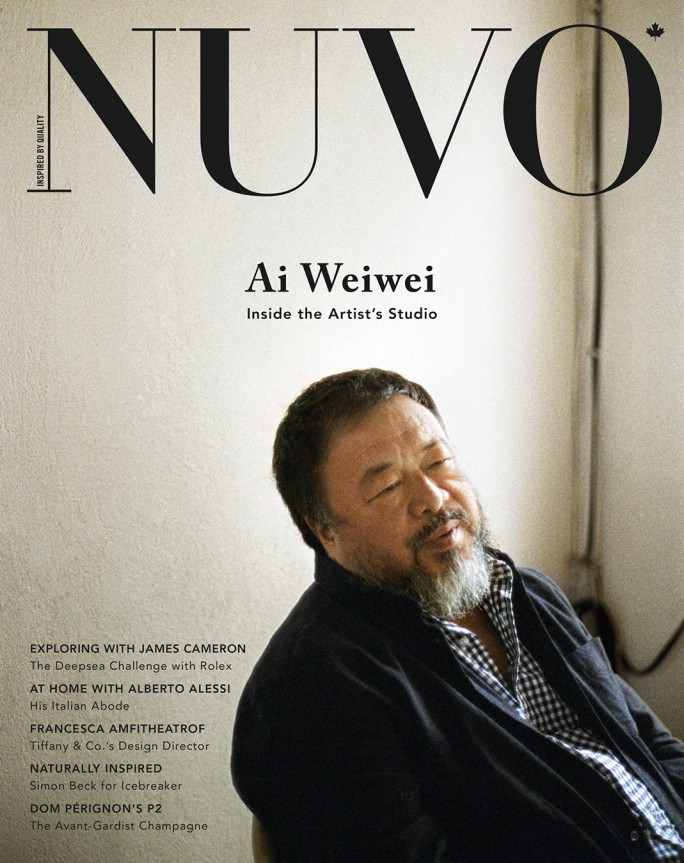 NUVO Winter 2014 Cover featuring Ai Weiwei