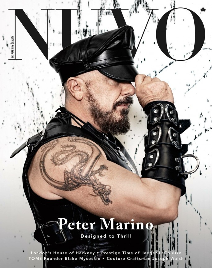 NUVO Magazine Spring 2015 Cover featuring Peter Marino