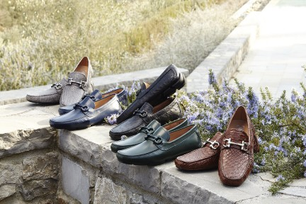 NUVO Daily Edit: Ferragamo's Customized Driving Shoes