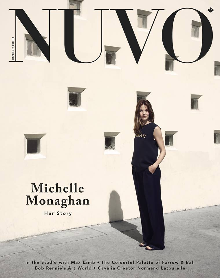 NUVO Summer 2015 Cover featuring Michelle Monaghan