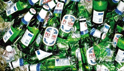 !Peroni bottle