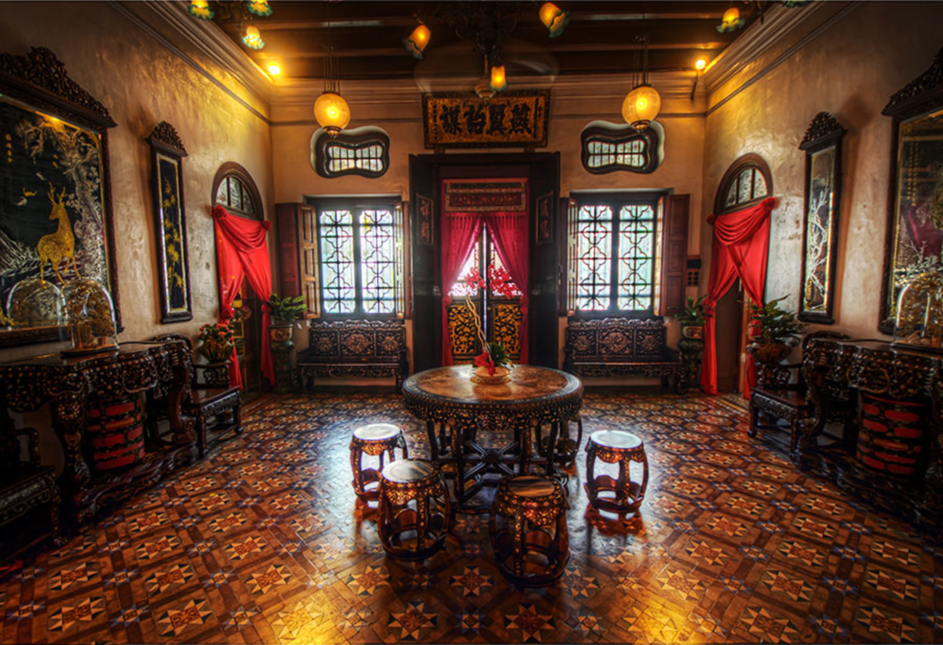 Pinang peranakan mansion nuvo for Bar interieur maison