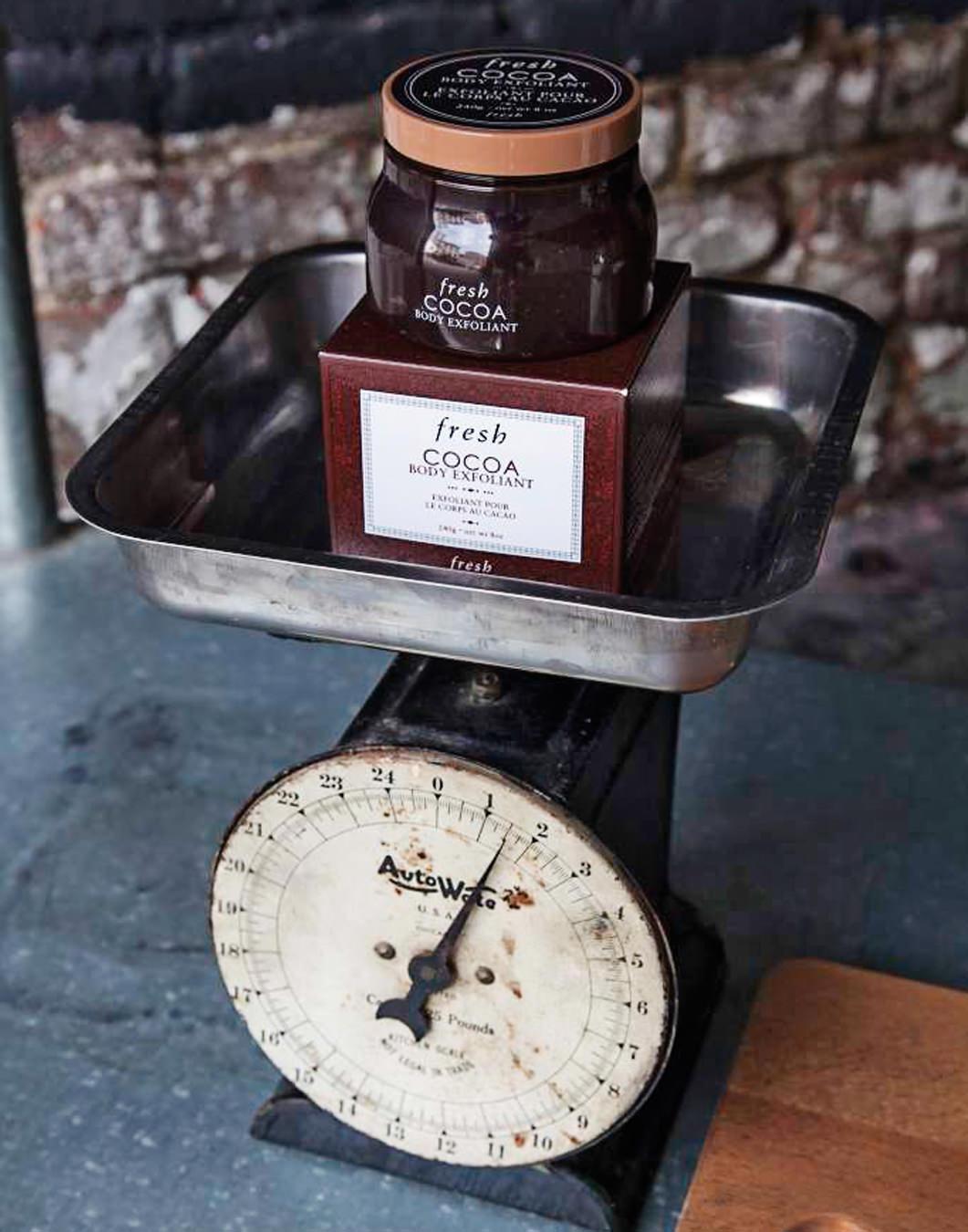 NUVO Winter 2015: Cocoa Body Exfoliant, Of Note